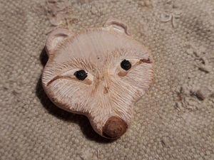 """Амулет """"медвежья сила"""". Ярмарка Мастеров - ручная работа, handmade."""