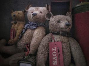Три медведя: Вольфганг, Ламмерт и Рейн. Ярмарка Мастеров - ручная работа, handmade.