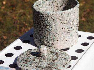 """Результаты глазурного обжига с глазурью """"Зеленый камень"""". Ярмарка Мастеров - ручная работа, handmade."""