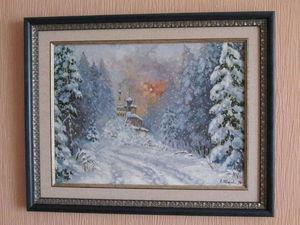 Картины уже оформлены, осталось повесить на стену. | Ярмарка Мастеров - ручная работа, handmade