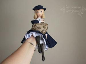 Розыгрыш места на обучающий онлайн-курс по текстильной кукле, конфетка, giweaway. Ярмарка Мастеров - ручная работа, handmade.