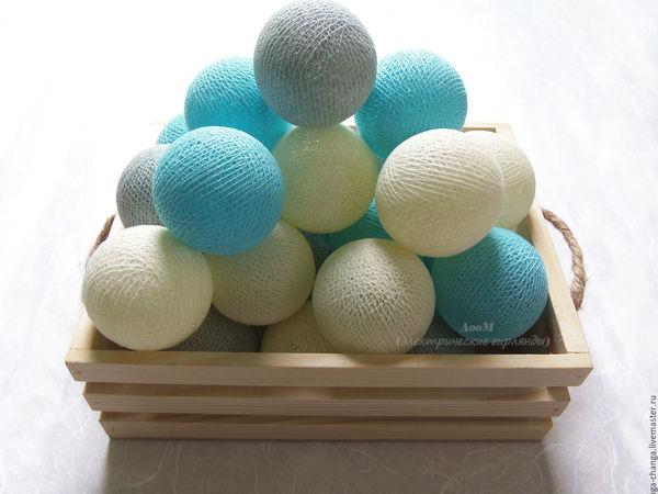 Светящиеся шары | Ярмарка Мастеров - ручная работа, handmade
