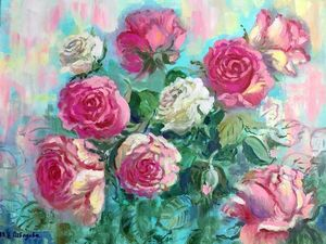Вальс цветов.. Ярмарка Мастеров - ручная работа, handmade.