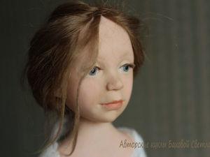 Простой способ изготовления ресничек для кукол. Ярмарка Мастеров - ручная работа, handmade.