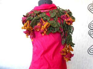 Распродажа оригинальных шарфиков!!!. Ярмарка Мастеров - ручная работа, handmade.
