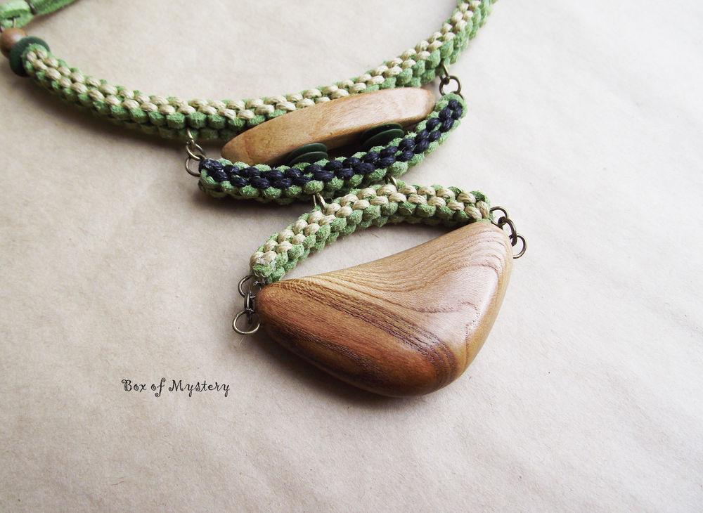 деревянный, кулон, украшение в подарок