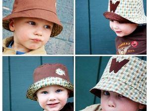 Шьем панаму для мальчика. Ярмарка Мастеров - ручная работа, handmade.