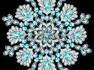 Снежные фантазии: такие милые, нежные и изящные снежинки в работах мастеров. Ярмарка Мастеров - ручная работа, handmade.