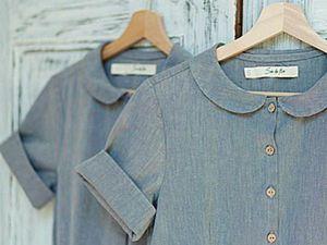 Scandinavian Style in Clothes by Son de Flor. Livemaster - handmade