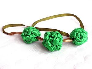 Ожерелья из атласных лент со скидкой 70%!!!!! ДО 19 МАРТА!. Ярмарка Мастеров - ручная работа, handmade.