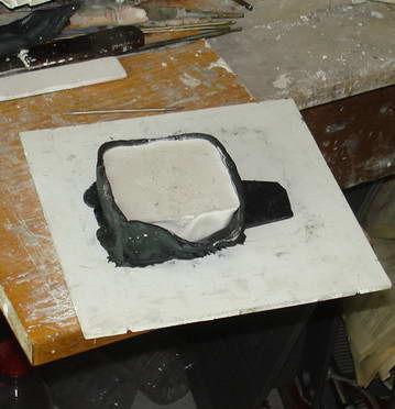 Как сделать гипсовую форму для изготовления однотипных изделий., фото № 11