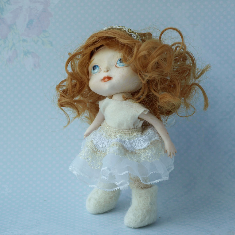 кукла подвижная, кукла малышка