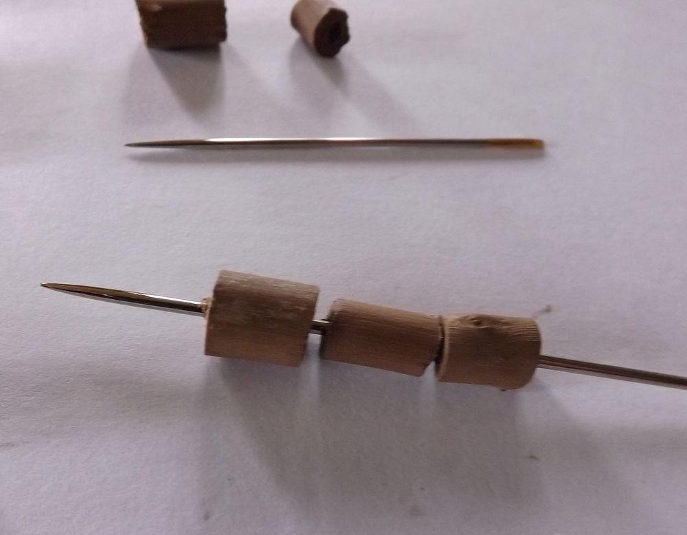 деревянные бусины