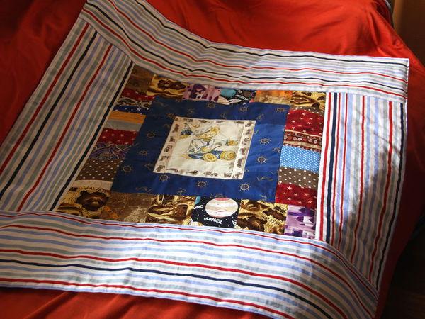 Аукцион с нуля! Одеялко для мальчика!   Ярмарка Мастеров - ручная работа, handmade