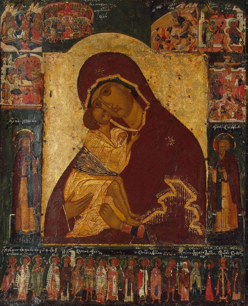 богоматерь донская, молитва