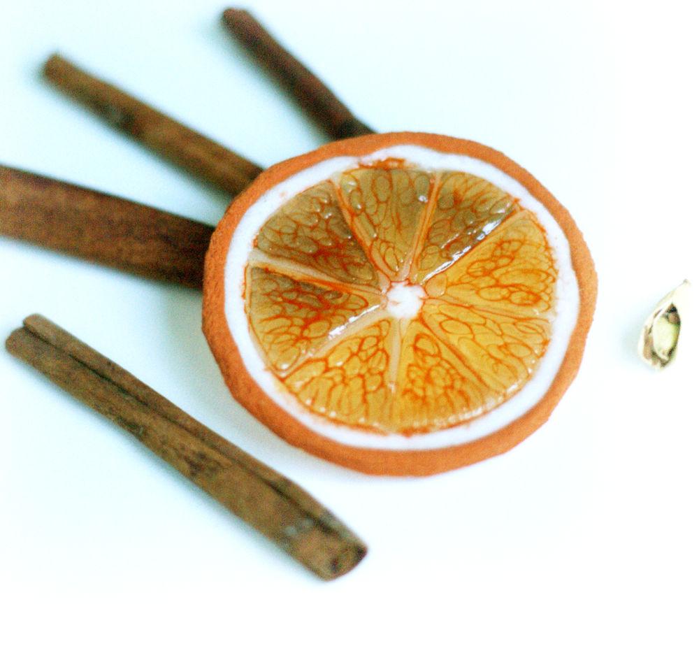 прозрачный фарфор, бижутерия своими руками, лепка лимон, цитрусовые