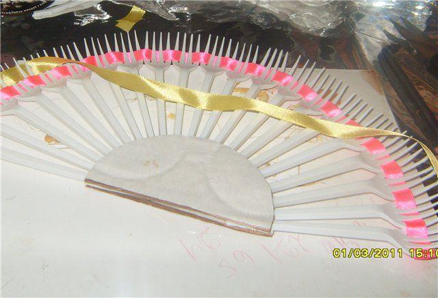 Как сделать веер мастер класс пошагово