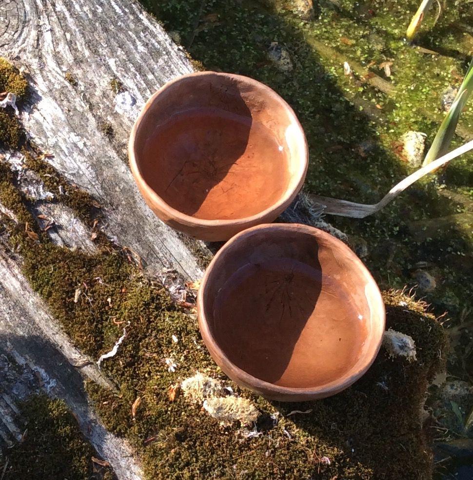 Две скорлупки времени.. Две чайные пиалы, фото № 5