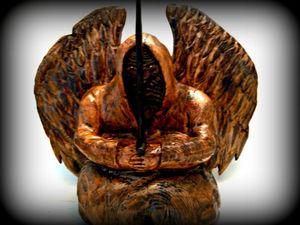 Темный ангел. Ярмарка Мастеров - ручная работа, handmade.